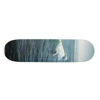 Surfing At Ocean Beach Custom Skateboard