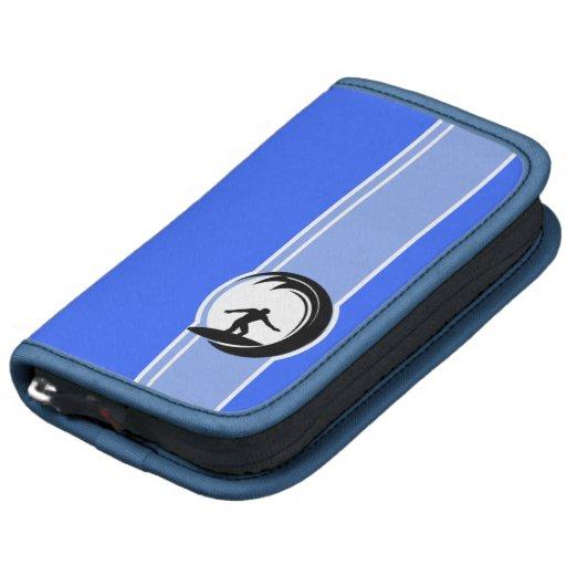 Surfing; Blue Folio Planner