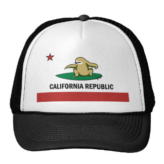 Surfing Cali Sloth Cap