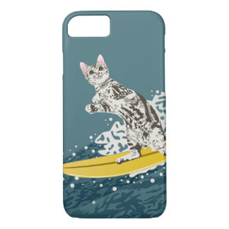 Surfing Cat Phone Case