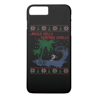 Surfing Christmas iPhone 7 Plus Case