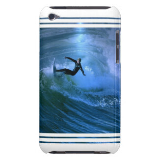 Surfing Curl iTouch Case