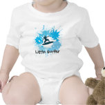 Surfing Customisable Baby Clothing Shirts