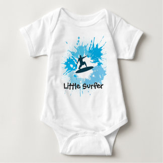 Surfing Customizable Baby Clothing Tee Shirts