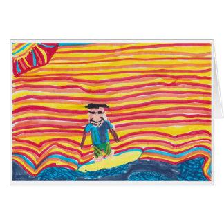 Surfing Daddy Card
