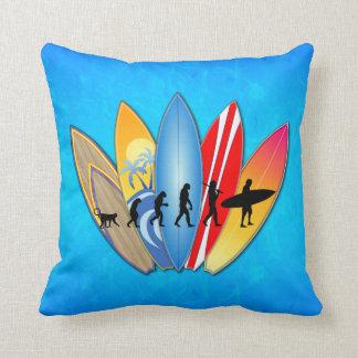 Surfing Evolution Cushion