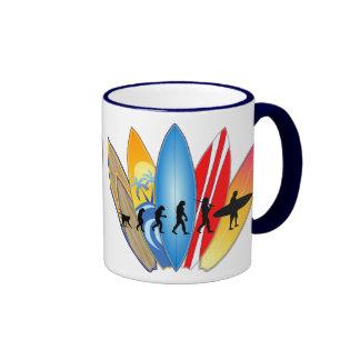 Surfing Evolution Mug