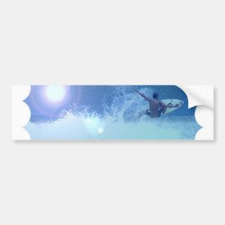 Surfing Extreme Bumper Sticker