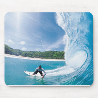 Surfing Fantasy Mouse Pad