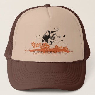 Surfing Freedom Trucker Hat