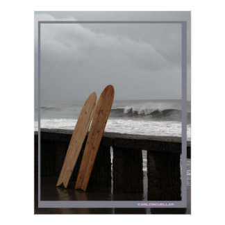 surfing gear poster