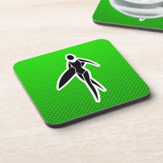 Surfing Girl Drink Coasters