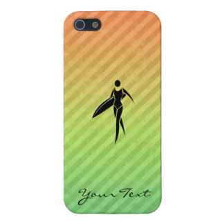Surfing Girl iPhone 5/5S Case