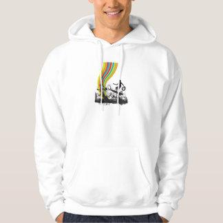 surfing into rainbows sweatshirt