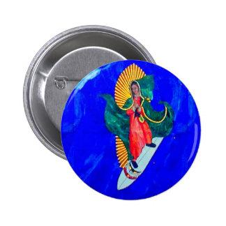 surfing nun button