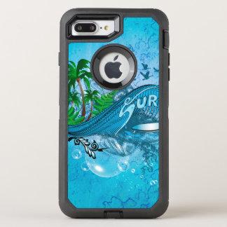 Surfing OtterBox Defender iPhone 8 Plus/7 Plus Case