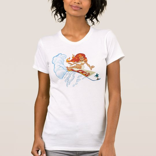 Surfing Pele T-Shirt