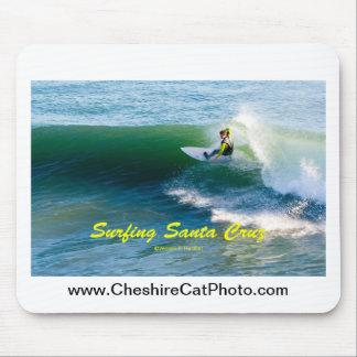 Surfing Santa Cruz California Products Mousepad
