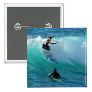 Surfing Style Square Pin