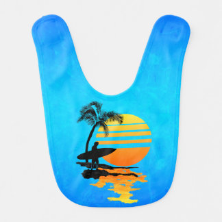 Surfing Sunrise Bib