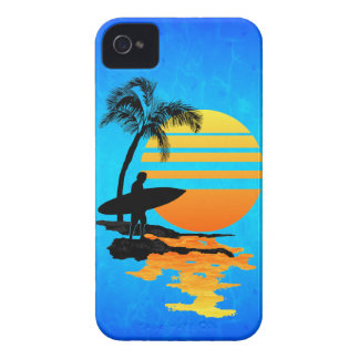 Surfing Sunrise iPhone 4 Case