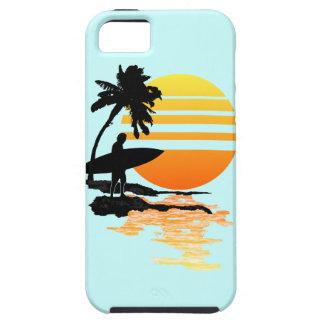 Surfing Sunrise iPhone 5 Cases