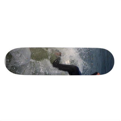 Surfing Surfers Waves Ocean Skate Deck