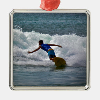 Surfing Tamarindo Christmas Ornament