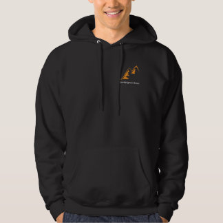 Surfing the Mountains - Localpigeon Snowboarding Hoodie