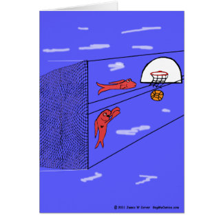 """""""Surfing the Net"""" Greeting Card"""