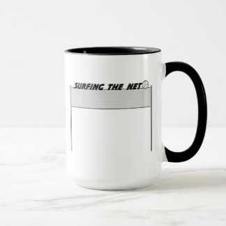 Surfing The Net Mug