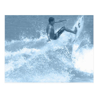 Surfing Tricks Postcard