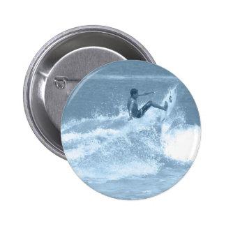 Surfing Tricks Round Button