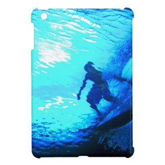 Surfing underwater view iPad mini cases