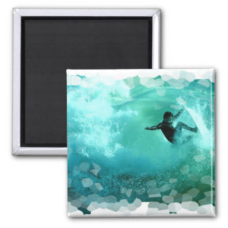 Surfing Wipeout Magnet