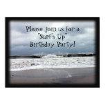 """Surf's Up"" Birthday Party 17 Cm X 22 Cm Invitation Card"