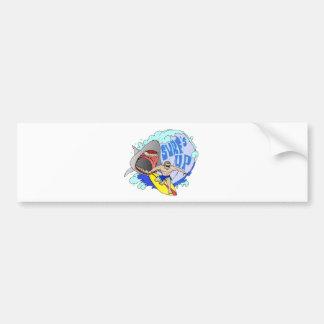 Surf's UP Bumper Sticker