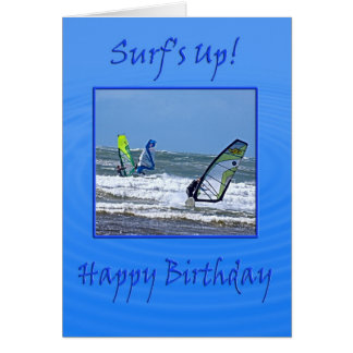 Surfs up! card