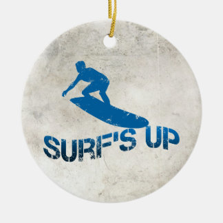 Surf's Up Christmas Ornament