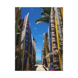 Surf's Up Gallery Wrapped Canvas
