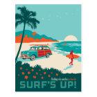 Surf's Up Postcard