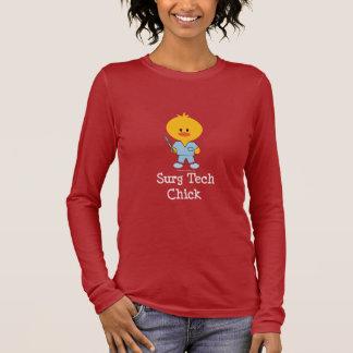 Surg Tech Chick Long Sleeve T-shirt  Long Sleeve T-Shirt