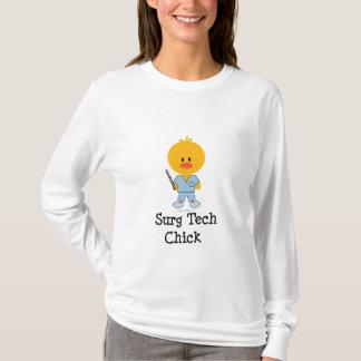 Surg Tech Chick Long Sleeve Tee  T-Shirt