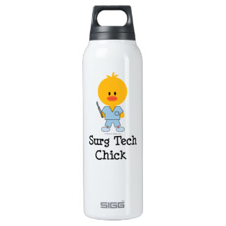 Surg Tech Chick 16 Oz Insulated SIGG Thermos Water Bottle