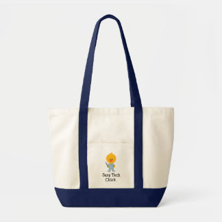 Surg Tech Chick Tote Bag  Impulse Tote Bag