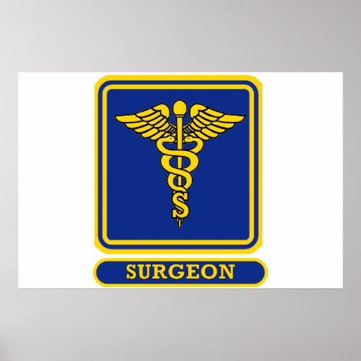 Surgeon Caduceus Print