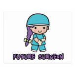 Surgeon (girl) post card