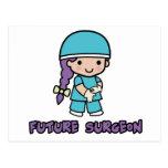 Surgeon (girl) postcard