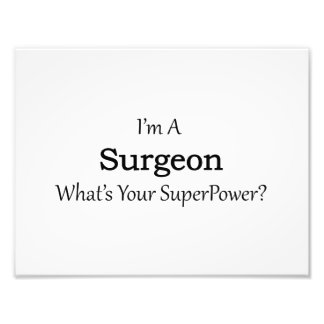 Surgeon Photo Print