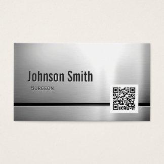 Surgeon - Stainless Steel QR Code
